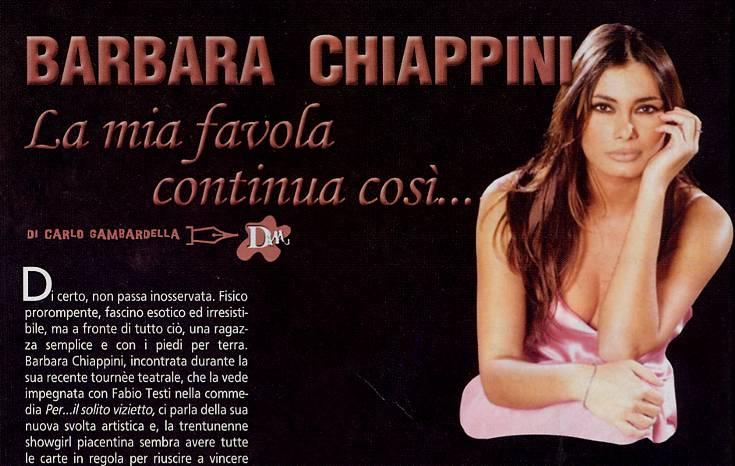 Barbara Chiappini Calendario.Dream2